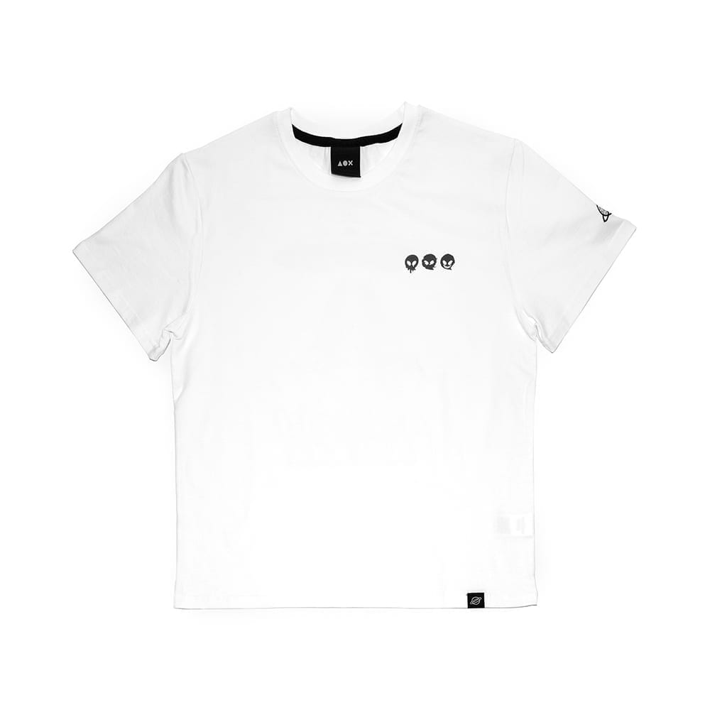 Asteroid3 short sleeve T-shirts(Standard fit) White| 에이오엑스